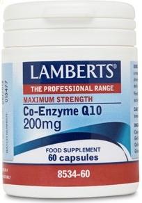 Lamberts Co-Enzima Q10 200mg 60 cápsulas