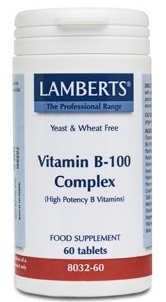 Lamberts Vitamina B-100 Complex 60 comprimidos