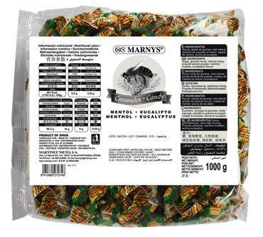 Marnys Caramelos Propoleo, miel, mentol y eucalipto 1kg
