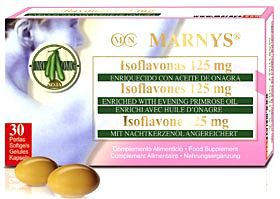 Marnys Isoflavonas con Onagra 30 perlas