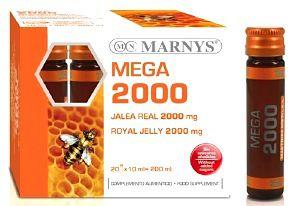 Marnys Jalea Real Mega 2000mg 20 ampollas