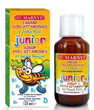 Marnys Jarabe Junior Multivitamina con Jalea 125ml