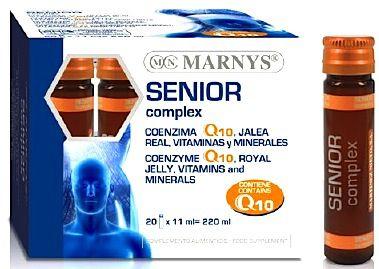 Marnys Senior Complex Q10 20 viales