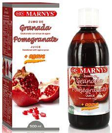 Marnys Zumo de Granada y Agave 500ml