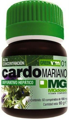 MGdose Cardo Mariano 60 comprimidos