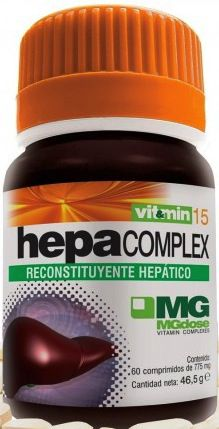 MGdose Hepa Complex 60 comprimidos