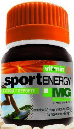 MGdose Sport Energy 30 comprimidos