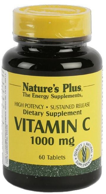 Nature's Plus Vitamina C 1000mg 60 comprimidos