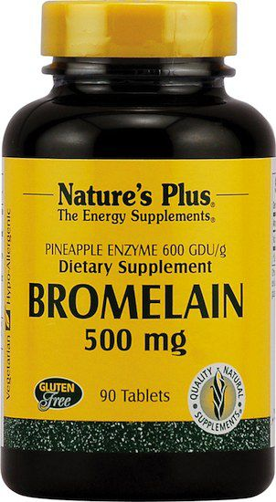 Nature's Plus Bromelaína 500mg 60 comprimidos