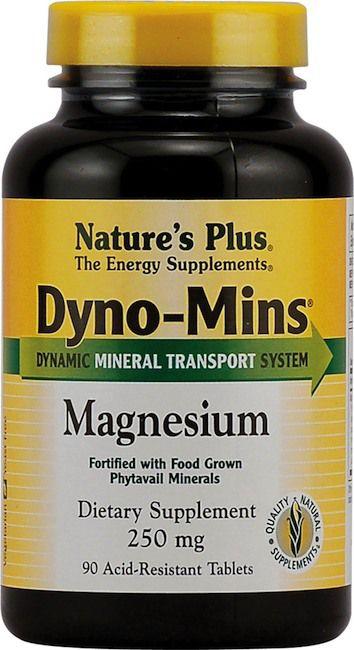 Nature's Plus Dyno-Mins Magnesio 300mg 90 comprimidos