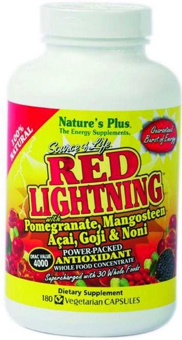 Nature's Plus Red Lightning 180 cápsulas