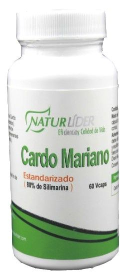 Naturlider Cardo Mariano Estandarizado 60 cápsulas