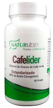 Naturlider Cafelíder 60 cápsulas