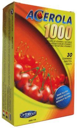 Orthonat Acerola 1000mg 30 comprimidos