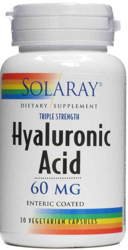 Solaray Ácido Hialurónico 30 cápsulas