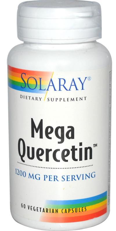 Solaray Mega Quercetin 60 cápsulas