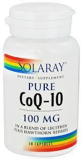 Solaray CoQ-10 100mg 30 cápsulas