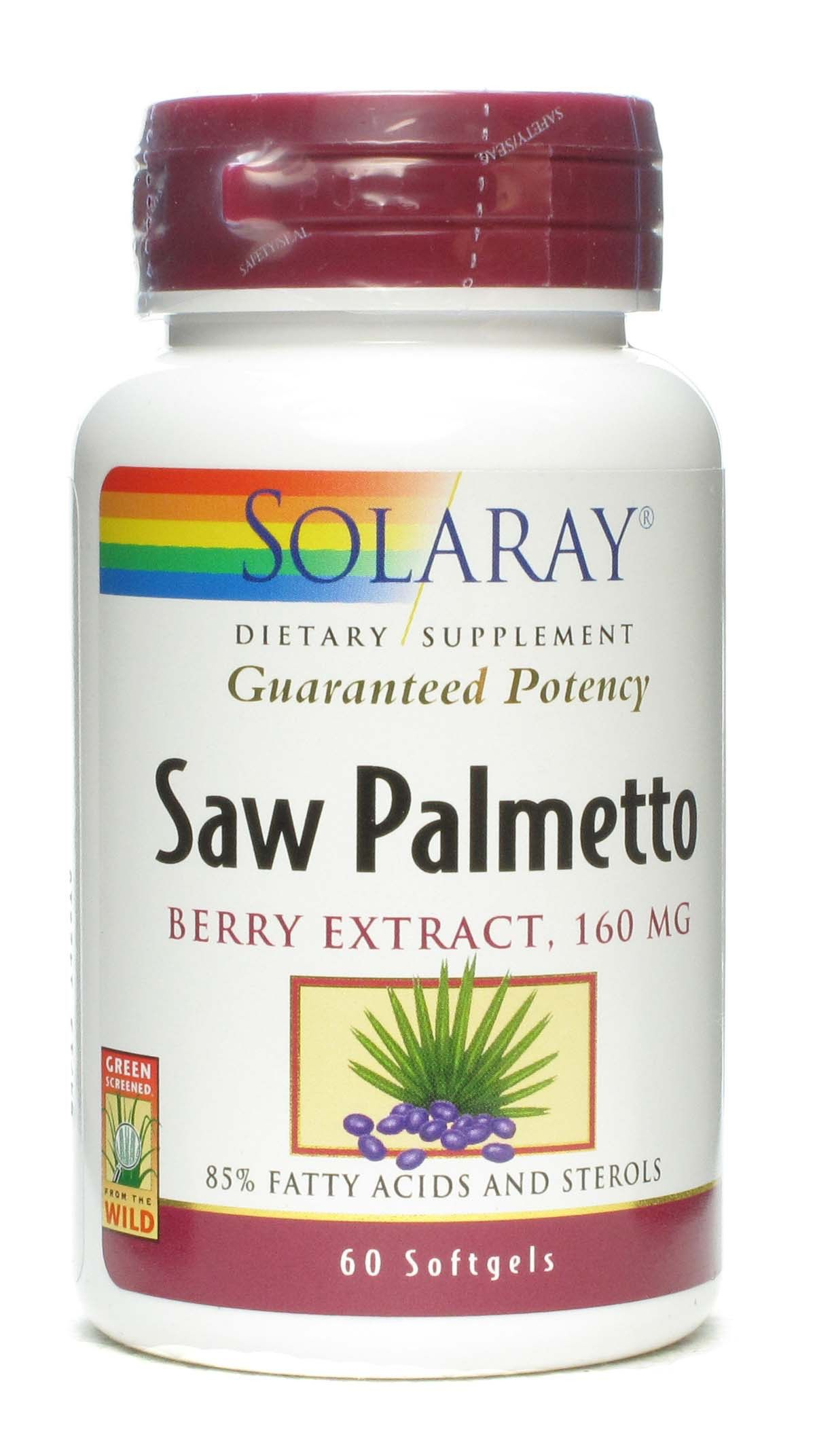 Solaray Sabal - Saw Palmetto 60 cápsulas