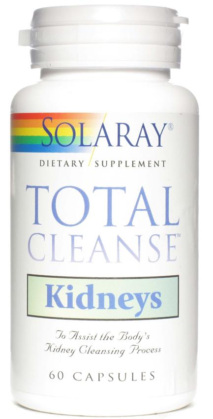 Solaray Total Cleanse Kidneys 60 cápsulas