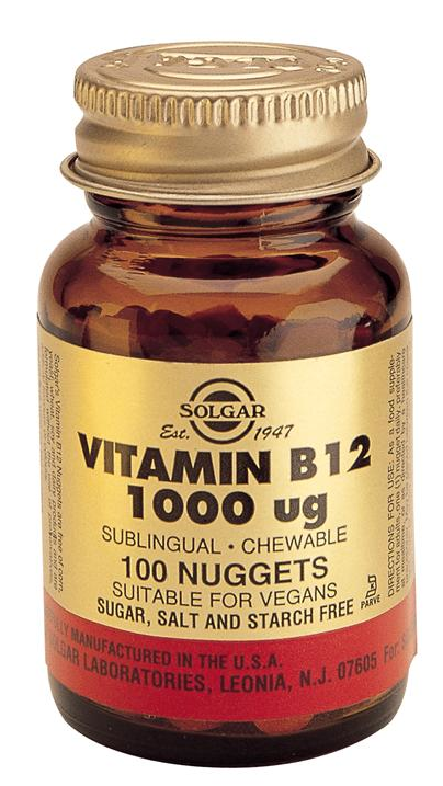 Solgar Vitamina B12 1000 microgramos 100 comprimidos