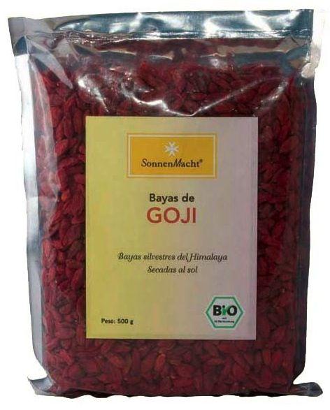 Sonnemacht Bayas de Goji Bio 500g