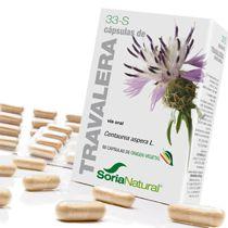Soria Natural 33-S Travalera 60 cápsulas