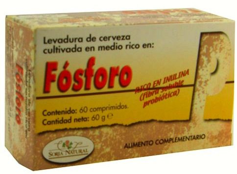 Soria Natural Fósforo 60 comprimidos
