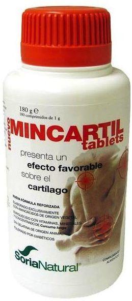 Soria Natural Mincartil Reforzado 180 comprimidos