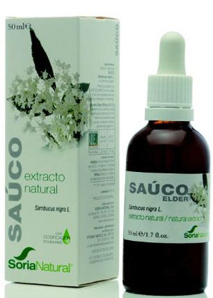 Soria Natural Saúco Extracto 50ml