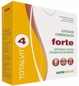 Soria Natural Totalvit 04 Forte 28 comprimidos