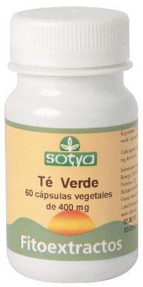 Sotya Té Verde 60 cápsulas