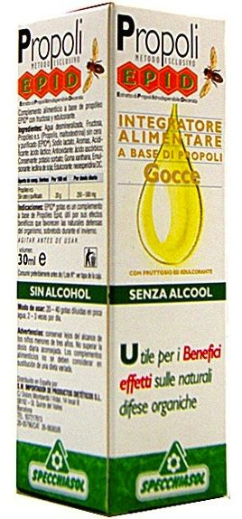 Specchiasol Epid Propolis Extracto en Agua Purificada 30ml