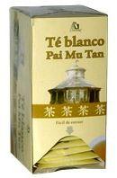 Té Blanco Pai Mu Tan 20 filtros