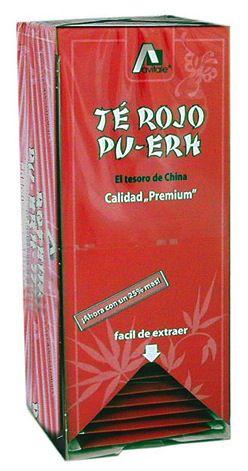 Té Rojo Pu-Erh 25 filtros