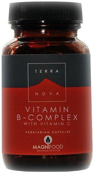 Terranova B-Complex-Vitamina C 100 cápsulas