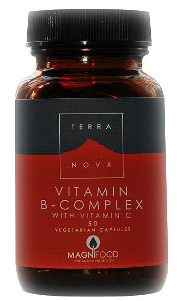 Terranova B-Complex-Vitamina C 50 cápsulas