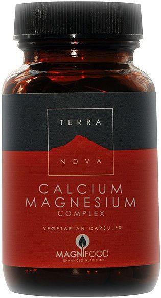 Terranova Calcio Magnesio Complex 100 cápsulas