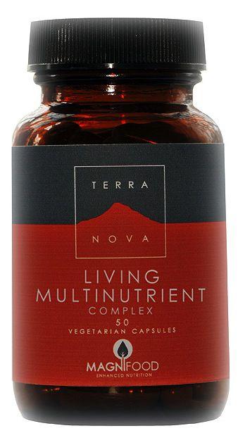 Terranova Multinutriente Vivo 50 cápsulas
