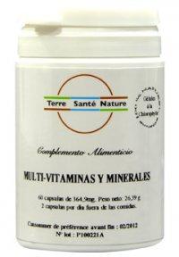 MCA Multi Vitaminas y Minerales 200 cápsulas
